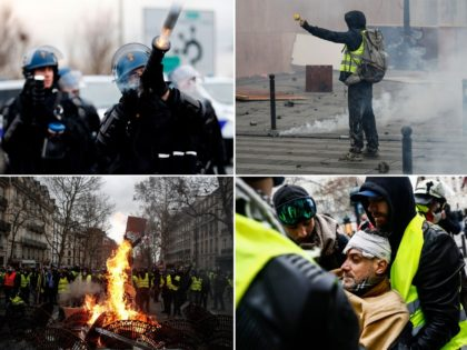 Mounted Police and APCs Deployed as 'Act IV' of Yellow Vest Protests Unfolds