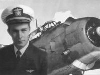 Description: George Herbert Walker Bush, U.S. Navy, August 1942 – September 1945. Photo courtesy George Bush Presidential Library and Museum. https://www.history.navy.mil/browse-by-topic/people/presidents/bush/portrait.html Description: Navy Pilot George H. W. Bush in TBM Avenger, 1944. Photo courtesy George Bush Presidential Library and Museum. https://www.history.navy.mil/browse-by-topic/people/presidents/bush/avenger.html