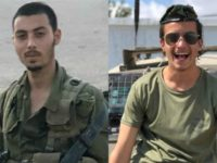 Corporal Yosef Cohen (L) and Sergeant Yuval Mor Yosef (R), identified by the IDF as the soldiers killed in a shooting attack on December 13th, 2018. (photo credit: IDF SPOKESPERSON'S UNIT)
