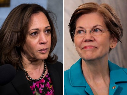 Ethics Group Slams Elizabeth Warren, Kamala Harris for Brett Kavanaugh Fundraising
