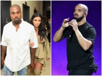Kanye West Claims Rapper Drake Threatened Him and His Family