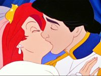 Little Mermaid kiss