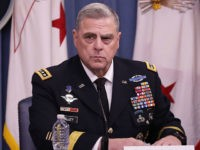 U.S. Army Chief of Staff Gen. Mark Milley announces that Austin, Texas, will be the new headquarters for the Army Futures Command during a news conference at the Pentagon July 13, 2018 in Arlington, Virginia. The Army is undergoing its biggest reorganization in 45 years with the creation of the …