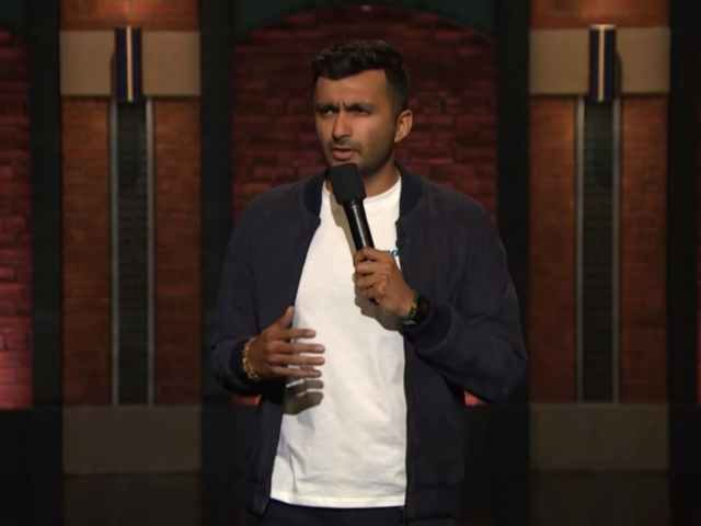 Comedian Nimesh Patel