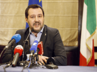Italy's Salvini Slams E.U. for 'Unbalanced' Approach to Israel