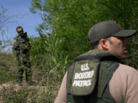 Border Patrol agents search the Rio Grande River for illegal immigrants crossing the border from Mexico into the United States on Monday, March 26, 2018 near McAllen, Texas. An estimated 11 million undocumented immigrants live in the United States, many of them Mexicans or from other Latin American countries. / …