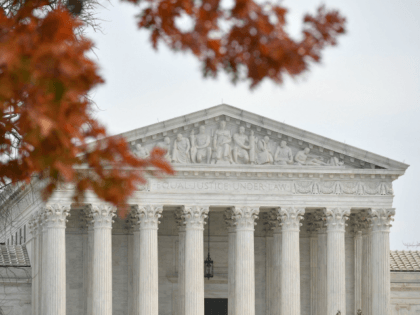 A December 10, 2018 photo shows the US Supreme Court in Washington, DC. - The US Supreme Court declined to hear appeal cases by Kansas and Louisiana to end public funding through Medicaid to Planned Parenthood. (Photo by MANDEL NGAN / AFP) (Photo credit should read MANDEL NGAN/AFP/Getty Images)