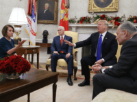 Oval Office Throwdown: Chuck Schumer and Nancy Pelosi Fight with Donald Trump on Border Wall