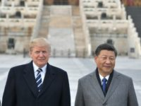 Trump says US-China ties make 'BIG leap forward'