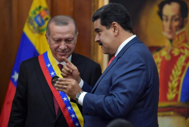 Visit by Turkey's Erdogan boosts Venezuela's Maduro