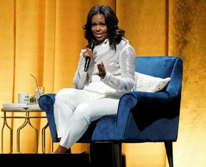 The 54-year-old mother of two -- America's first African American first lady and wife of the first black US president -- is wildly popular at home and abroad, loved for her warm personality, intelligence and women's activism