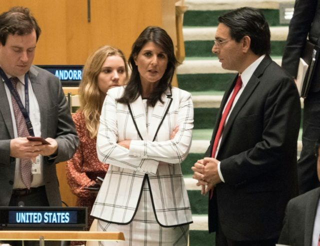 UN to vote on Haley's last stand: condemning Hamas - Breitbart