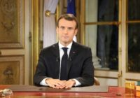 Macron's ratings have sunk, with a recent poll showing just 23 percent approved of his actions