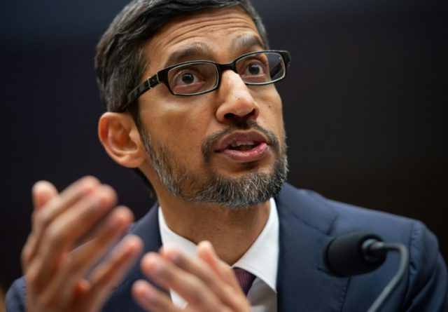 Google CEO reveals why Trump pops up in 'Idiot'