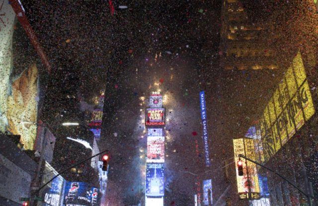 NYPD surveillance drone will fly above Times Square on New Year's Eve