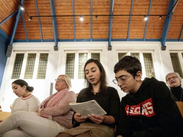 Dutch prayer vigil family 'hopeful' of asylum