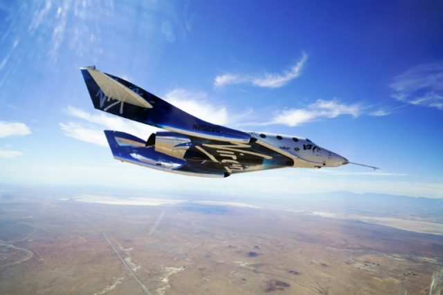 Virgin Galactic's SpaceShipTwo reaches space for first time