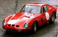 A Ferrari 250 GTO, similar to a rare model whose sale is being disputed by the children of a storied French leather and fur company