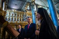 Ukrainian President Petro Poroshenko has made an independent Church a campaign pledge ahead of an unpredictable presidential election next year