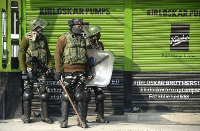 Kashmir locked down as Indian forces warn against protests