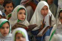 In Pakistan, 22.6 million children are out of school nationwide --a figure that is likely to increase with the country's unbridled population growth