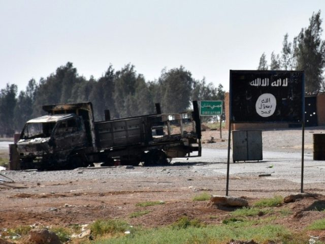 Has IS been beaten on the ground in Syria?