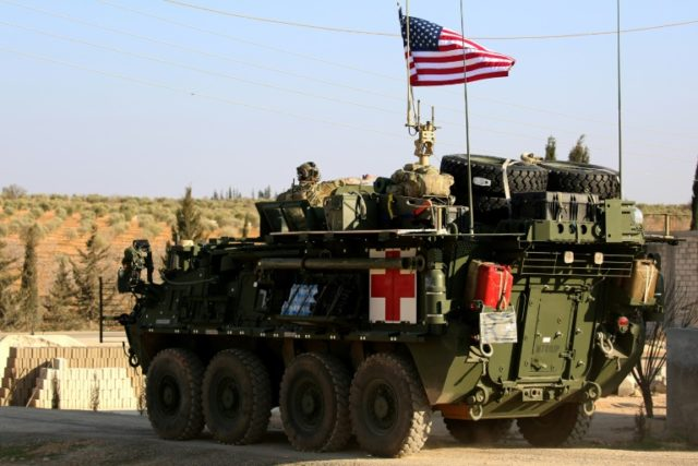 US pullout strengthens Iran 'land bridge': analysts