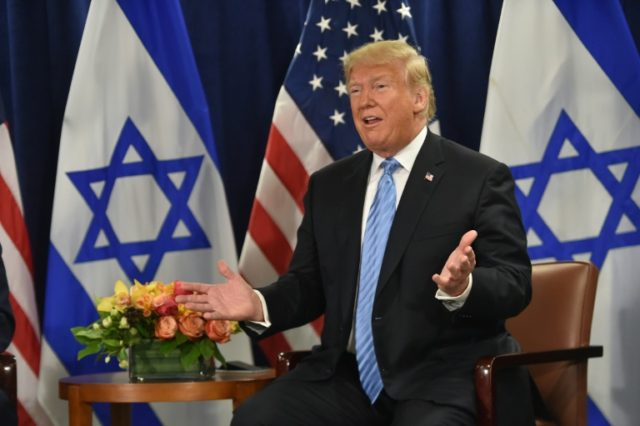 Trump says USA will recognize Israel's sovereignty over Golan Heights