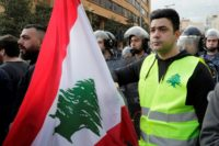 Hundreds take to Beirut streets over corruption