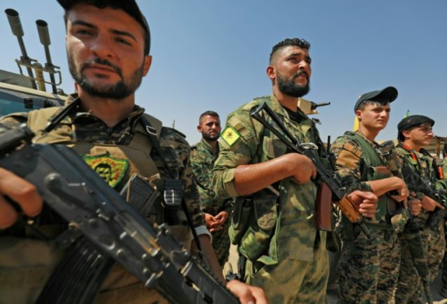 Turkey views the US-backed Kurdish fighters of the People's Protection Units (YPG) as a 'terrorist offshoot' of the outlawed Kurdistan Workers' Party (PKK)