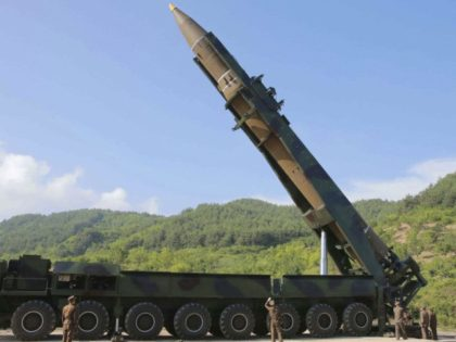 In this July 4, 2017, file photo distributed by the North Korean government, North Korean leader Kim Jong Un, second from right, inspects the preparation of the launch of a Hwasong-14 intercontinental ballistic missile (ICBM) in North Korea's northwest. North Korea on Thursday, Dec. 20, 2018, says it will never …