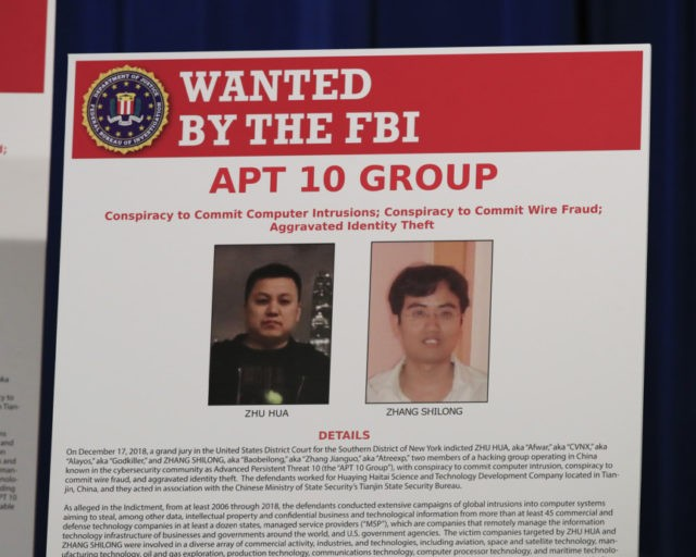 United States  charges 2 hackers linked to Chinese intel