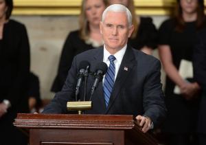 Pence breaks Senate deadlock on judge for first time in U.S. history