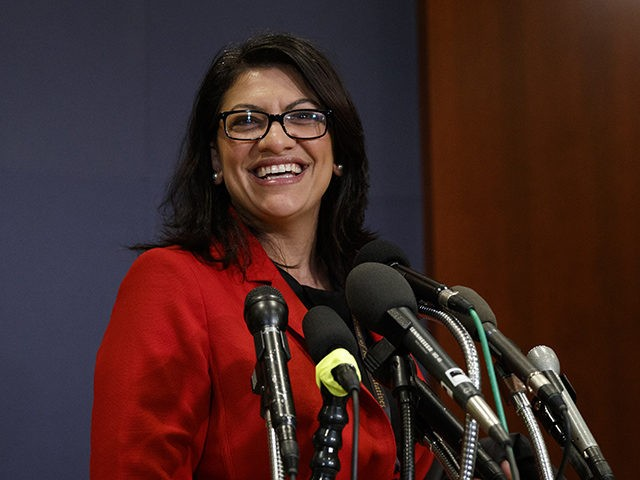 United States congresswoman Rashida Tlaib removes Israel from her congressional office's map