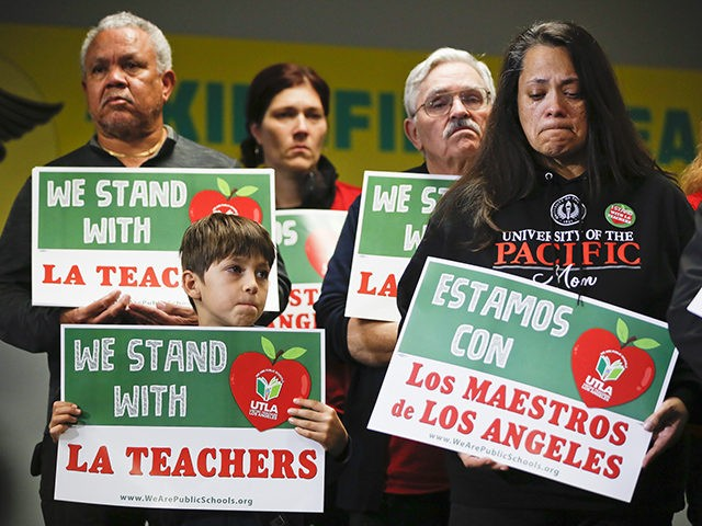 This Is How The Los Angeles Teacher Strike Compares To Others