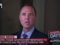 Schiff: Trump Is Acting Like 'He's in the Fifth Grade'