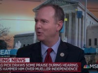 Schiff: Trump Could Not Be 'More Furthering of Russian Interests,' More 'Antagonist' to U.S. Interests