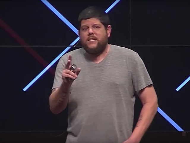 """BuzzFeed's Anthony Cormier delivered a 2017 TED Talk at Florida State University (FSU) in Tallahassee, Florida, entitledCombating Fake News, in which he derided Breitbart News as """"fake news"""" three times."""