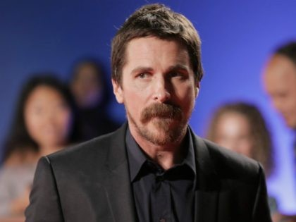 "Christian Bale attends ""The Promise"" premiere on day 4 of the Toronto International Film Festival at Roy Thomson Hall on Sunday, Sept. 11, 2016, in Toronto. (Photo by Jesse Herzog/Invision/AP)"
