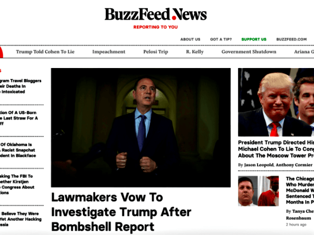 Buzzfeed Front Page