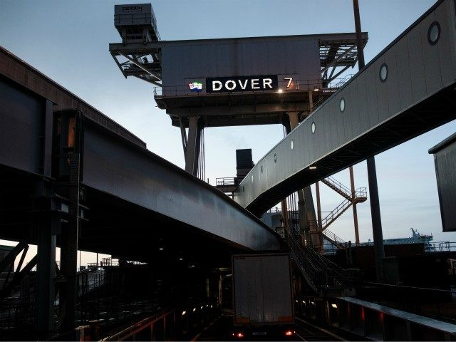 DOVER, ENGLAND - MARCH 05: Lorry drivers board a ferry to Calais at the port of Dover on March 5, 2018 in Dover, England. The haulage industry faces an uncertain future while Brexit negotiations between the British government and the European Union continue. Many in the industry, which currently enjoys …