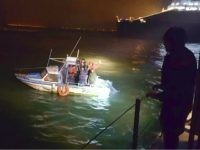 This image provided by the Gendarmerie Maritime (French Coast Guard) shows migrants aboard a boat after being intercepted by French authorities, off the port of Dunkirk, northern France, Tuesday, Nov. 27, 2018. French and British maritime authorities have pulled 18 migrants in two small boats from the English Channel as …