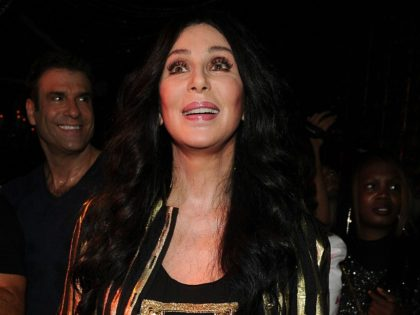 Singer Cher appears at Ultra Suede in West Hollywood, California on July 27, 2013. Cher has her eight number one single with her new song 'Woman's World' on the Billboard Hot Dance Club Songs chart. (Photo by Frank Micelotta/Invision/AP Images)