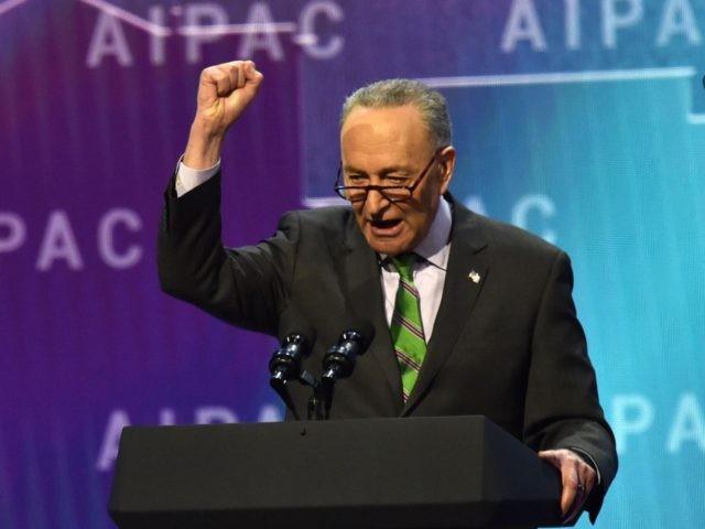 Chuck Schumer Israel AIPAC (Nicholas Kamm / AFP / Getty)