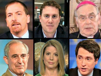 Chuck Todd, Ben Smith, Catholic Sacrament, Rich Lowry, Kirsten Powers, Lanny Davisjpg