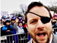 Rep. Dan Crenshaw at March: Not About Choice, Life Begins at Conception