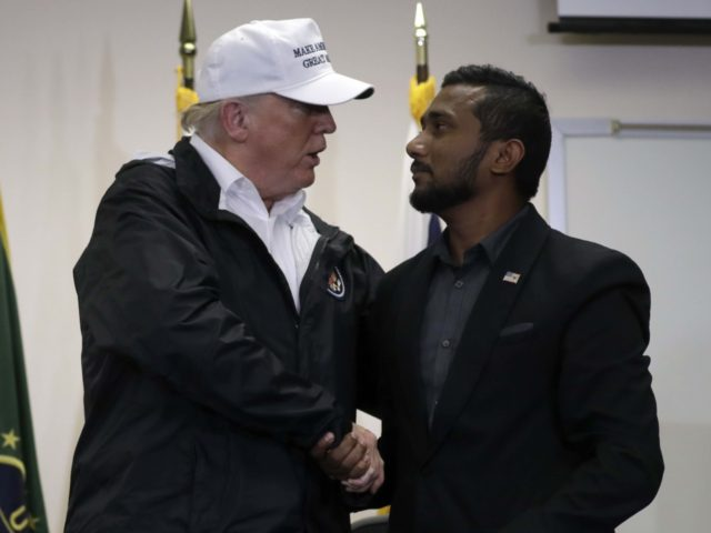 Donald Trump Ronil Singh brother (Evan Vucci / Associated Press)