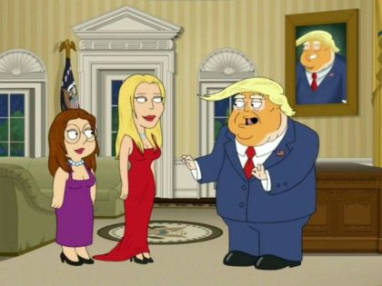 Family Guy, Trump