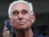 Roger Stone, a former advisor to President Donald Trump, leaves the Federal Courthouse on January 25, 2019 in Fort Lauderdale, Florida. Mr. Stone was charged by special counsel Robert Mueller of obstruction, giving false statements and witness tampering.