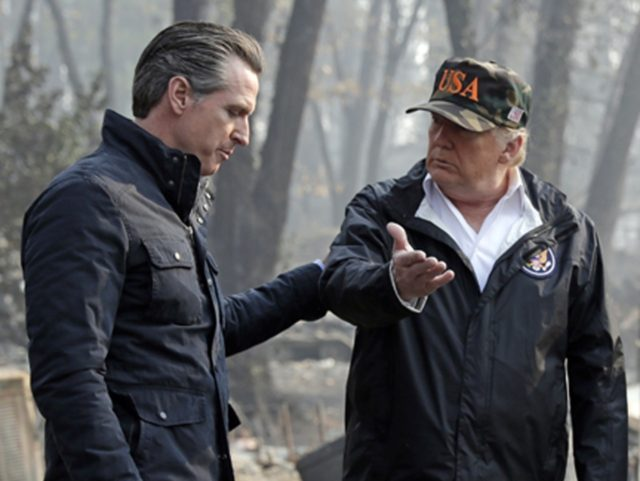 Trump to stop federal relief aid for California wildfires